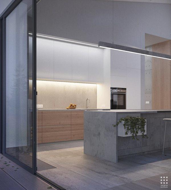 Các loại thảo mộc bên trong căn bếp vừa mang lại cảm giác gần gũi thiên nhiên vừa có thể sử dụng cho các món ăn của gia đình.