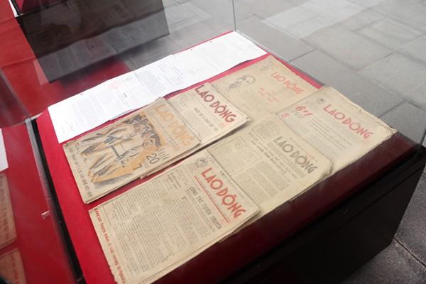 Những ấn phẩm đầu tiên của báo Lao Động ra đời cách đây 70 năm.