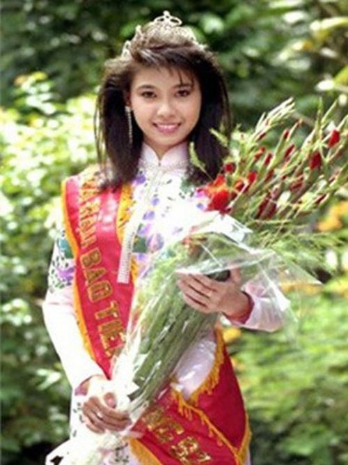 Hà Kiều Anh là người thứ 3 đăng quang Hoa hậu Việt Nam, năm ấy cô mới 16 tuổi. Cô được xem là mỹ nhân trẻ nhất từng giữ vương miện của cuộc thi danh giá này