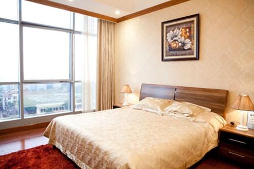 Nhìn qua bản thiết kế mẫu của một căn hộ nằm trong tòa chung cư nơi Mai Phương Thúy mua có thể cảm nhận được không gian rộng rãi thoáng đãng, đón nhiều ánh nắng.