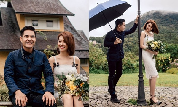 Bộ hình chụp cùng nhau lãng mạn như ảnh cưới của cặp đôi