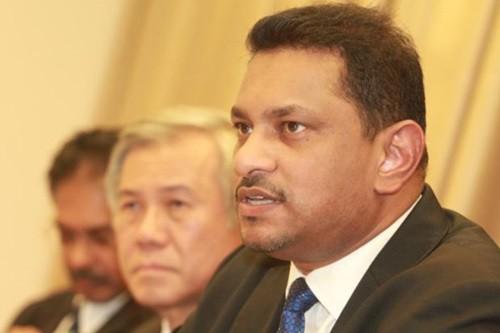 Tân chủ tịch Hội Luật sư Malaysia Abdul Fareed Abdul Gafoor. Ảnh: Star.