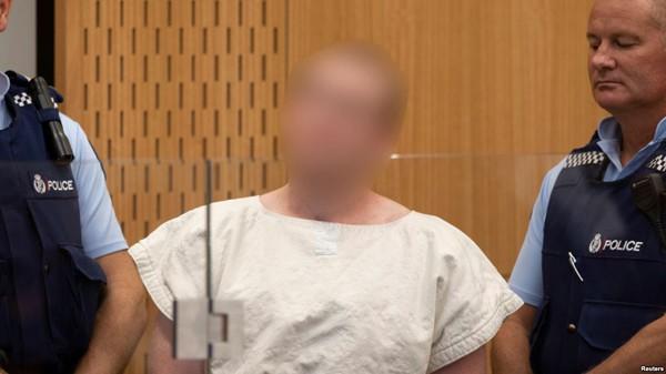 Tay súng 28 tuổi tại phiên tòa hôm 16/3.
