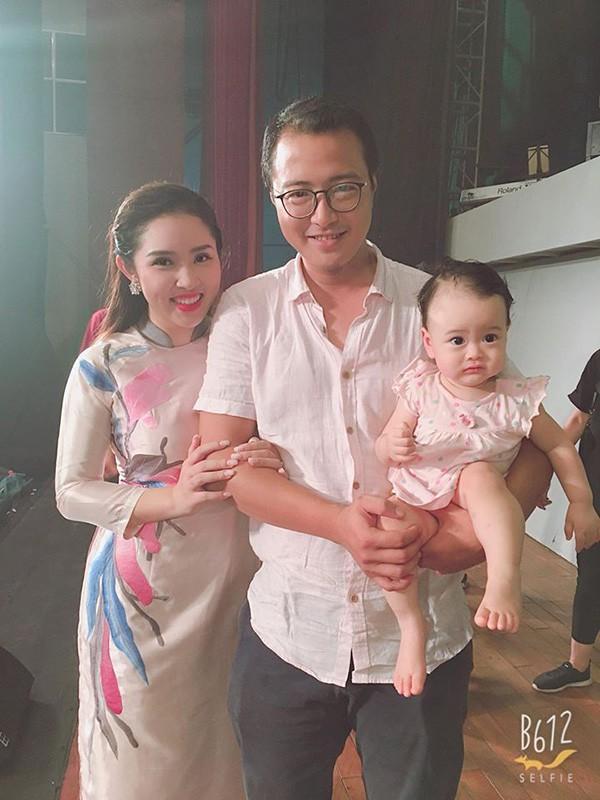 Gia đình nhỏ của ca sĩ Bảo Trâm Idol.