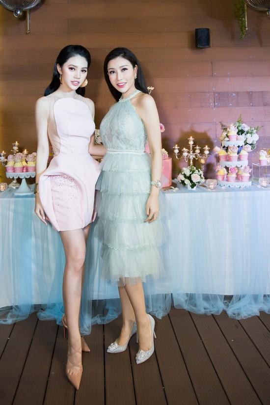 Hoa hậu Lam Cúc và Jolie Nguyễn từng rất thân thiết