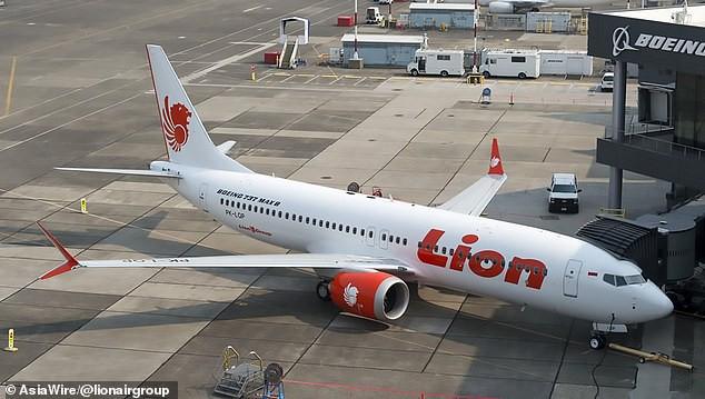 Máy bay của hãng hàng không Lion Air ở Indonesia.
