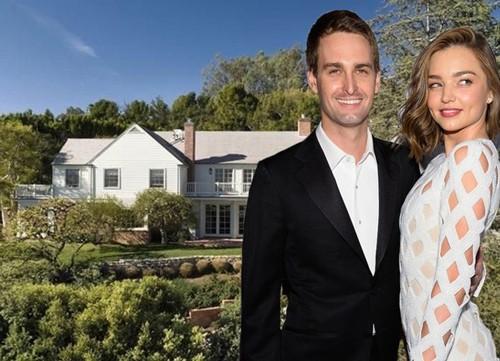 Ngôi nhà của Evan Spiegel và Miranda Kerr. Ảnh: Business Insider.