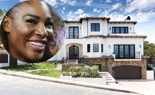 Ngôi nhà của ngôi sao quần vợt sở hữu chiếm chưa tới 5% thu nhập ròng của Serena. Ảnh: Business Insider.