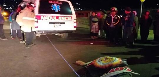 Hiện trường vụ tai nạn khiến 32 người thiệt mạng. Ảnh: Twitter