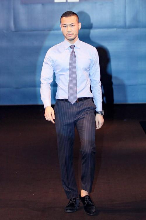 Trước khi rút lui về kinh doanh, Doãn Tuấn cũng là người mẫu có tên tuổi
