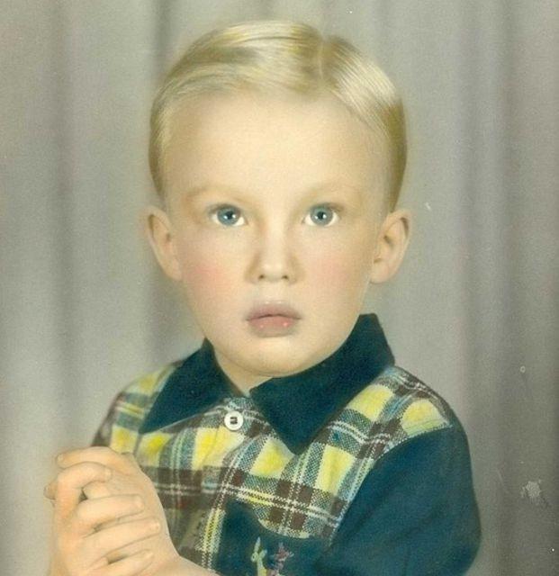 Ngay từ bé, Tổng thống nước Mỹ đã là một cậu bé khôi ngô, tuấn tú.