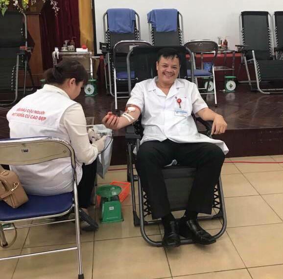 Từ năm 2015 - 2019, tổng số máu các thầy thuốc và nhân viên y tế đã hiến tặng gần 2.900 đơn vị máu