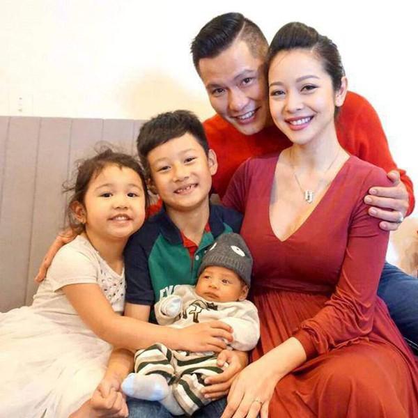 Hình ảnh viên mãn của gia đình Jennifer Phạm và doanh nhân Đức Hải.