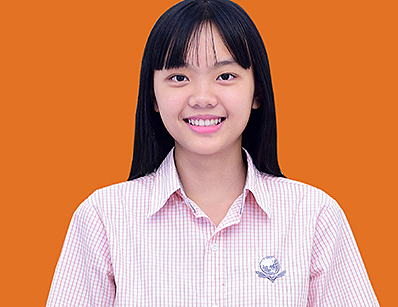 Nữ sinh Nguyễn Hiền Muội.