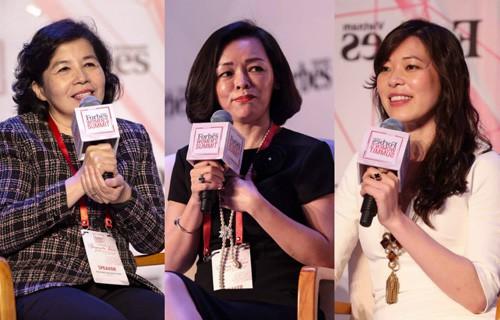 Các nữ doanh nhân Việt Nam.