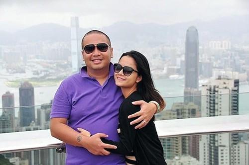 Quang Huy và Quỳnh Anh thuở còn mặn nồng