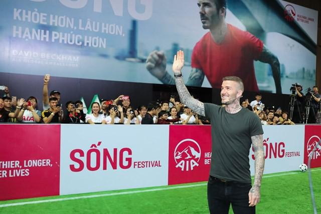 David Beckham là Đại sứ Thương hiệu Toàn cầu của AIA.