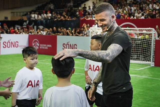 """Sau 4 năm kể từ thời điểm 2014, ông bố bốn con"""" mới sang Việt Nam để dự một sự kiện lớn do AIA tổ chức."""