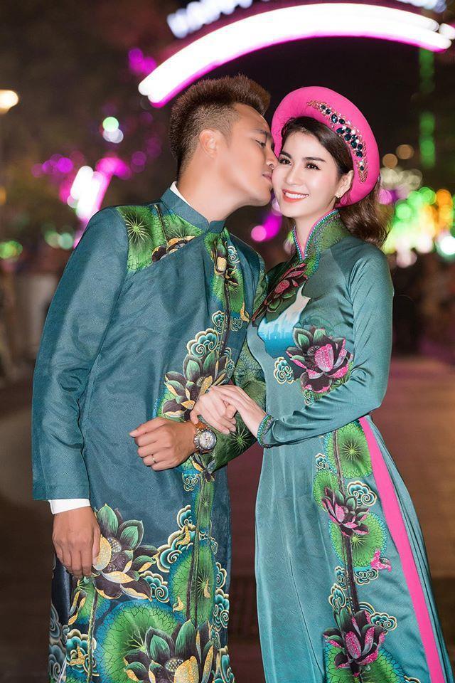 Kha Ly và chồng.