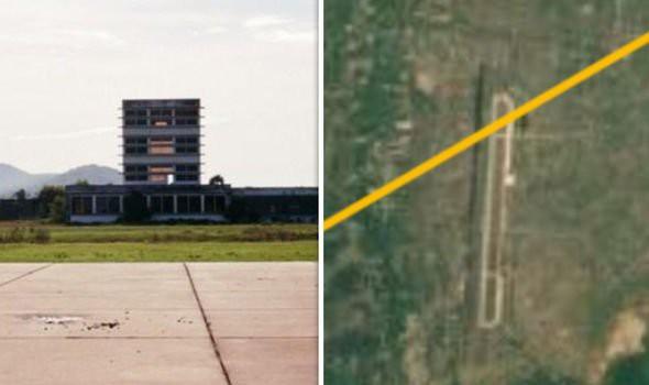 Sân bay bỏ hoang ở Campuchia được cho là nơi MH370 hạ cánh.