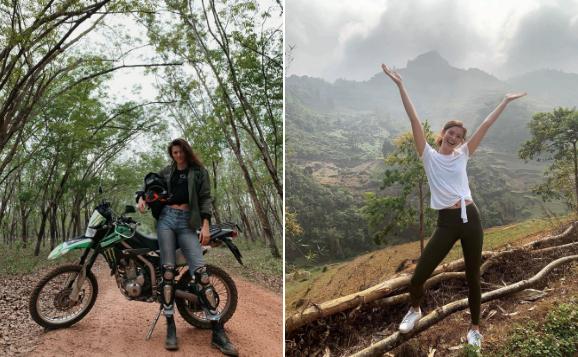 Sofie Rovenstine lên đường thăm thú Việt Nam. Ảnh: Zing