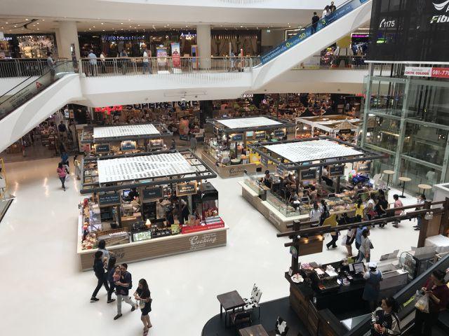 Người Việt sang các trung tâm thương mại lớn của Thái nhập hàng rất nhiều