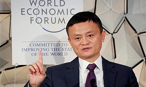 Jack Ma gây tranh cãi khi ủng hộ công thức làm việc 996. Ảnh: Reuters.
