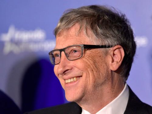 Bill Gates cho hay ông hạnh phúc ở tuổi 63. Ảnh: Business Insider.