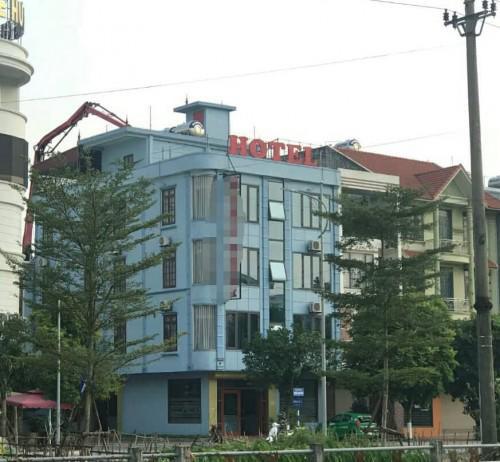 Khách sạn nơi cơ quan công an trích xuất camera tìm bằng chứng phạm tội. Ảnh: Vietnamnet