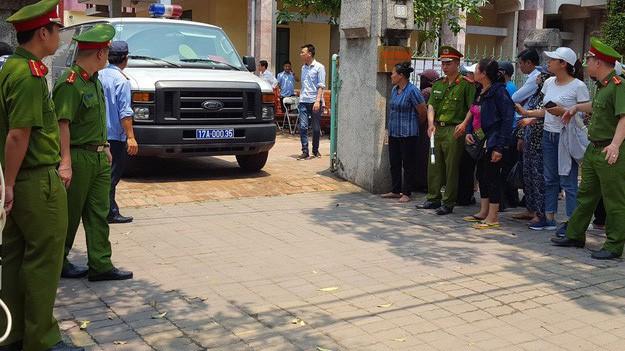 Phiên toà diễn ra ngày 19/4 tại TAND thành phố Thái Bình (ảnh tư liệu)