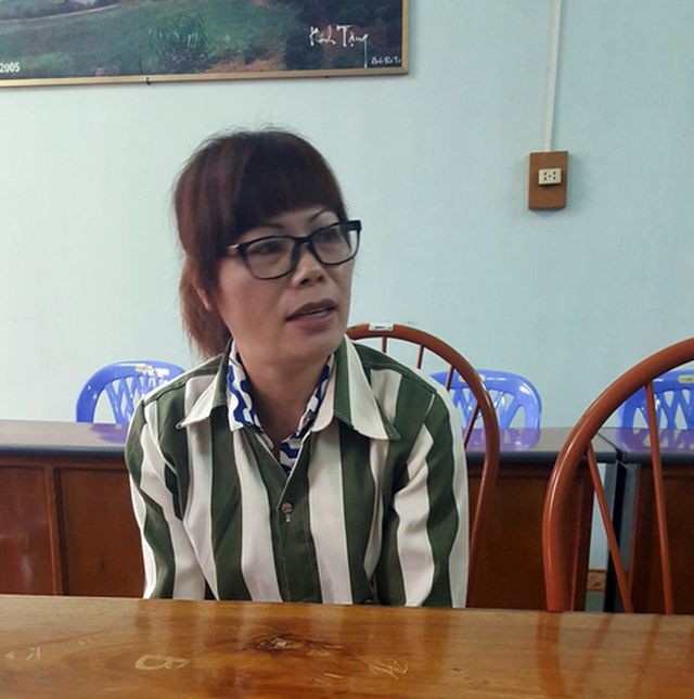Nguyễn Thị Luyến trải lòng trong trại giam.