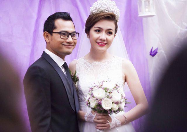 Huỳnh Đông - Ái Châu kết hôn sau 4 năm hò hẹn.