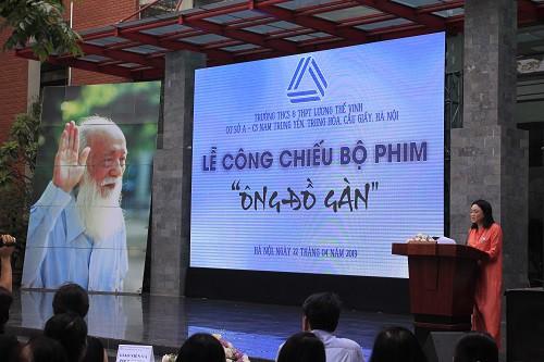 Bà Văn Thùy Dương giới thiệu về bộ phim Ông Đồ Gàn.