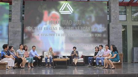 Tọa đàm chia sẻ về bộ phim, triết lý giáo dục và con người PGS Văn Như Cương.