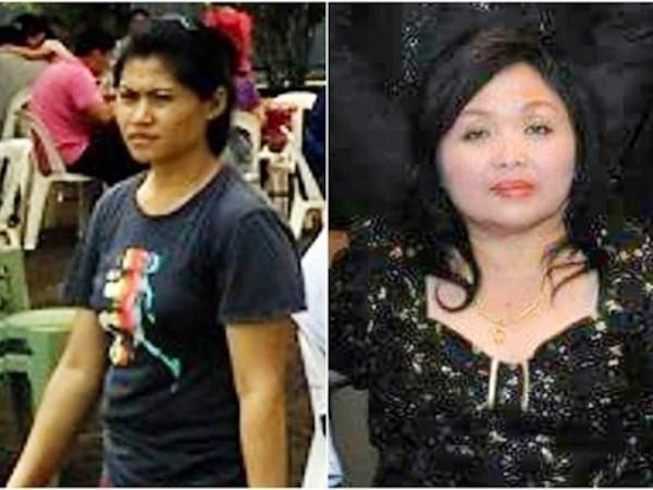 Daryati (ảnh trái) đã giết bà chủ nhà Seow. (Ảnh: Straits Times)