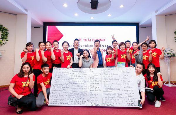 Buổi huấn luyện dự án trình dược viên online  của Sao Thái Dương