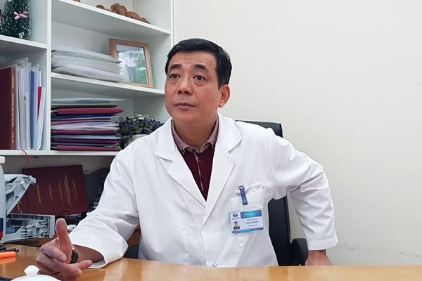 TS Phạm Văn Bình cho biết, ung thư đại trực tràng tại Việt Nam đang có xu hướng trẻ hoá. Ảnh: T.Hạnh