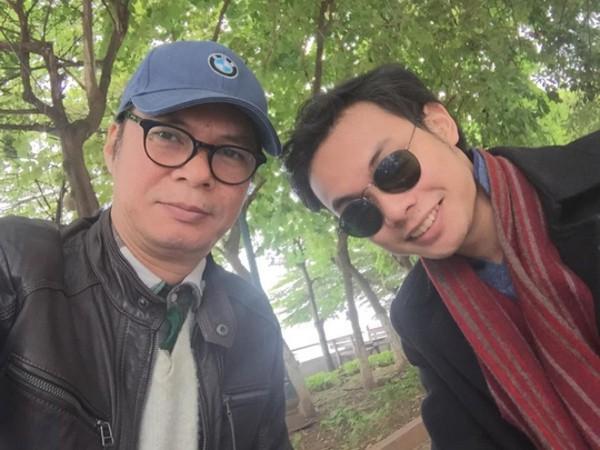 Trần Lực và con trai Trần Hoàng.