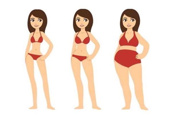 Sau tuổi 30, bạn dễ tăng cân và khó giảm cân hơn.