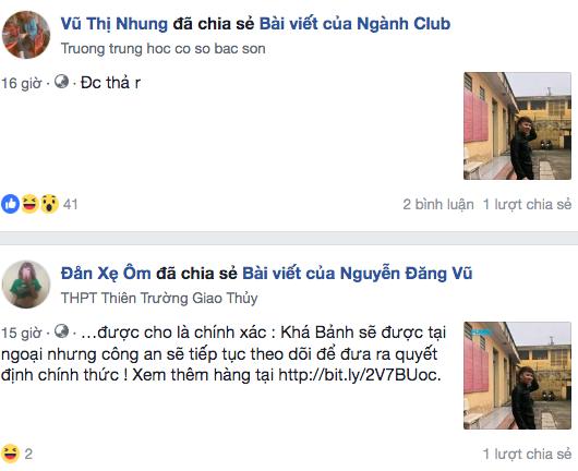 Công an tỉnh Bắc Ninh khẳng định thông tin này là không chính xác.
