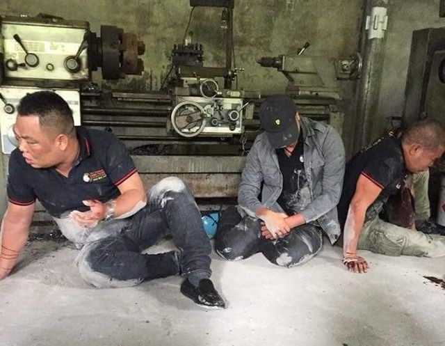 3 nhân viên Công ty CPDV Hưng Thịnh bị bố con Lân đánh trọng thương. Ảnh: TL