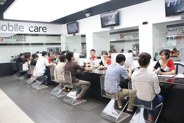 Một trung tâm bảo hành của Nhat Cuong Mobile