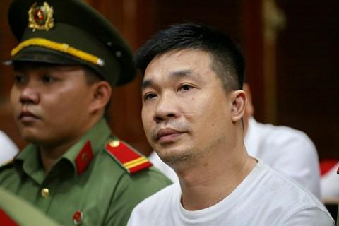 Văn Kính Dương bình thản trong ngày bị đề nghị tuyên án tử hình. Ảnh: Trương Khởi.