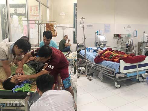 4 nạn nhân khi được Khoa Hồi sức tích cực và chống độc, Bệnh viện Đa khoa Bắc Kạn tiếp nhận đều trong tình trạng nguy kịch.