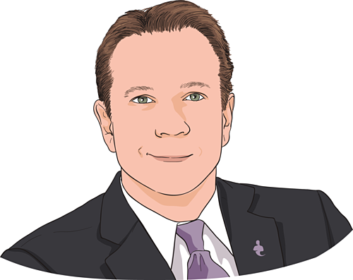 Tom Zgainer - Nhà sáng lập kiêm CEO America's Best 401K. Ảnh đồ họa: CNBC