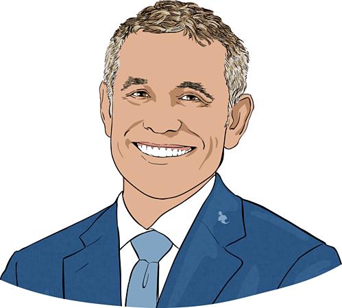 Peter Hernandez - Nhà sáng lập kiêm Chủ tịch Teles Properties. Ảnh đồ họa: CNBC