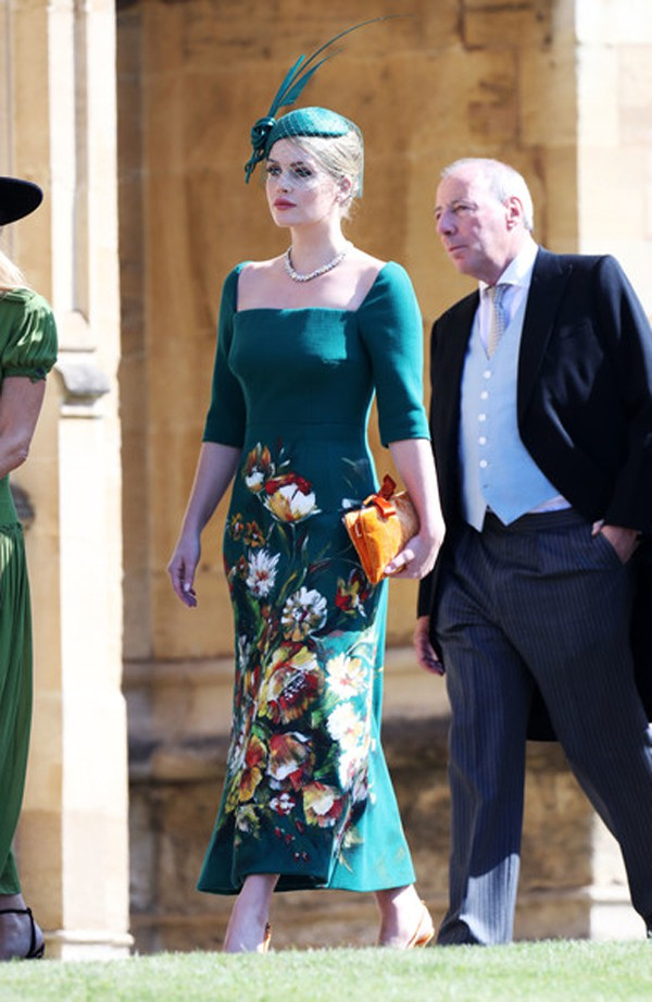 Spencer gây ấn tượng đặc biệt khi xuất hiện tại đám cưới anh họ, hoàng tử Harry vào tháng 5/2018.