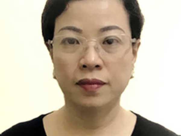 Bà Diệp Thị Hồng Liên.