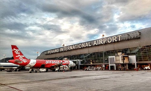 Sân bay quốc tế Penang tại Malaysia. Ảnh: Penang Foodie