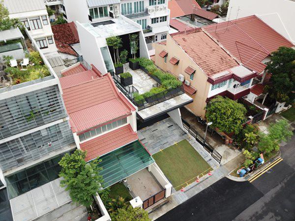Đây là một nhà thờ, nằm giữa khu dân cư đông đúc ở khu vực Everitt Rd N, Singapore.